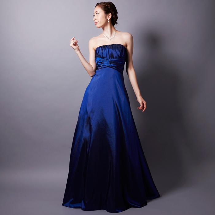 演奏会で大活躍の大人らしさ抜群ロイヤルブルーのドレス