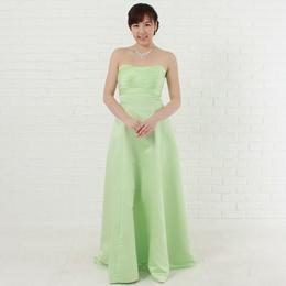 優しい色、ミントカラードレスのエコカラーはやはり優しい印象