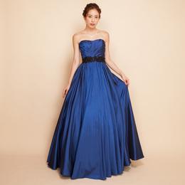 大人のパーティーには高貴さの色ロイヤルブルーカラーのドレス