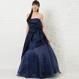 爽やかで初々しい印象を与えるブルーのドレス一覧
