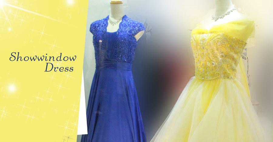 ショウウィンドウドレスがアノ映画のように…