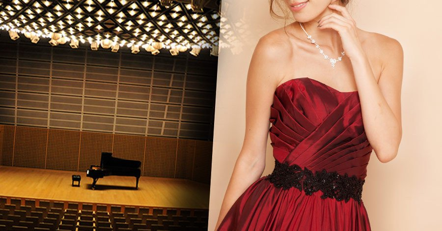 アンサンブルで演奏会ドレスを着る時のカラーアドバイス