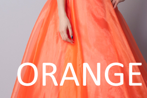 オレンジドレス